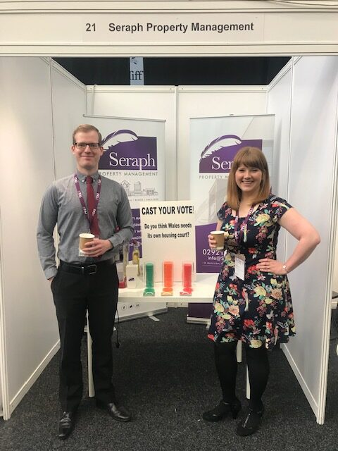 Seraph property Management Exhibition stand