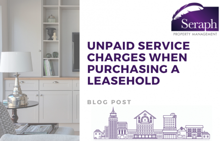 unpaid service charges when purchasing a leasehold